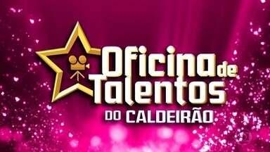 Oficina de Talentos do Caldeirão - Juliana leva a melhor na disputa.