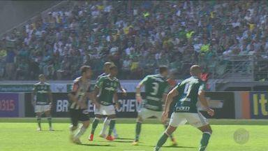 Confira os gols e os jogos do Brasileirão - O Corinthians empatou com o Fluminense em 1 a 1, o Atlético-MG venceu o Palmeiras por 1 a 0 e o São Paulo perdeu para o Grêmio por 1 a 0.