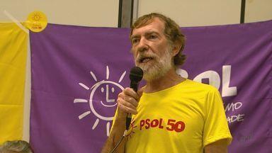PSOL oficializa candidatura de José Hermenegildo de Martin à Prefeitura de Ribeirão Preto, - Convenção foi realizada na Câmara Municipal com a presença de outros representantes do partido.