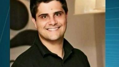 Publicitário Sérgio Grilo morre em acidente de carro no ES - Carro em que Sérgio estava bateu em árvore, em Cachoeiro de Itapemirim.