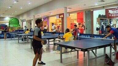 Shopping de Nossa Senhora do Socorro recebe Copa de tênis de mesa - Shopping de Nossa Senhora do Socorro recebe Copa de tênis de mesa