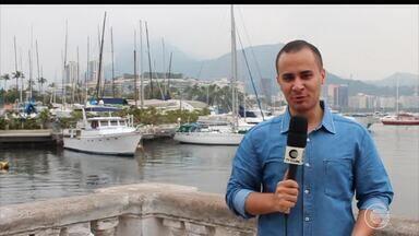 Repórter do globo esporte.com fala sobre o clima olímpico direto do Rio de Janeiro - Repórter do globo esporte.com fala sobre o clima olímpico direto do Rio de Janeiro