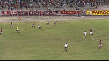 Campinense 2 x 1 Globo FC - Raposa vence o time potiguar no Amigão, de virada, e larga na frente no mata-mata da Série D.