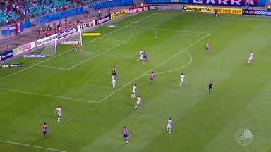 Bahia quebra jejum e volta a comemorar vitória - Time venceu o Luverdense no último sábado por 1 a 0. Gol foi marcado por um estreante na equipe.