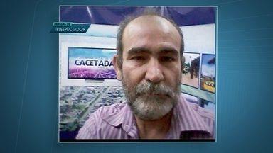 Moradores de Santo Antonio do Descoberto estão assustados com execução de jornalista - João Miranda era conhecido e foi morto a tiros na cidade.