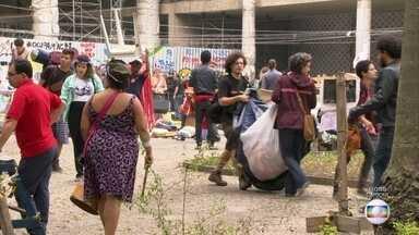 Manifestantes desocupam sede do Minc - O Ministério pediu à justiça a reintegração de posse.