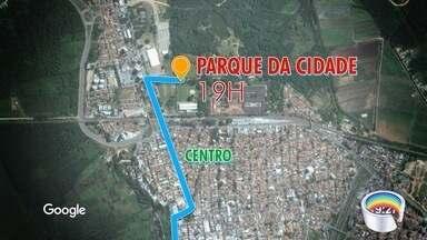 Nesta terça tocha chega a São José e Jacareí - Passagem da tocha vai alterar trânsito e itinerário dos ônibus.