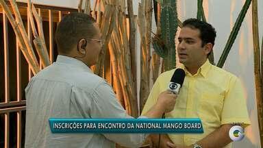 """Encontro da """"National Mango Board"""" está com inscrições abertas - O evento vai discutir a produção de manga aqui na região"""