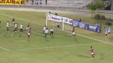 Campinense vence o Globo do Rio Grande do Norte - Esse foi o primeiro mata-mata disputado no estádio Amigão.