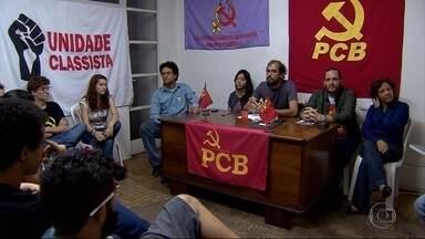 PCB realiza convenção em Belo Horizonte - Partido terá Pablo Lima como vice de Maria da Consolação (Psol).