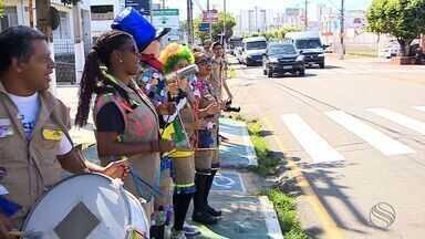SMTT promove campanha educativa para que os cidadãos respeitem a faixa de pedestres - SMTT promove campanha educativa para que os cidadãos respeitem a faixa de pedestres.