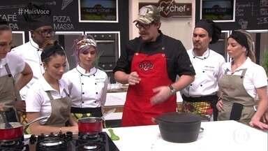Workshop com Renzo Garibaldi - Chef peruano mostra menu completo usando basicamente os mesmos ingredientes com técnicas inovadoras