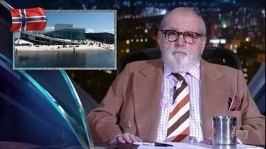 """Jô abre programa de quinta-feira comentando as notícias da """"boato press"""" - Alan Fonteles e Paulo Szot são os convidados da noite"""