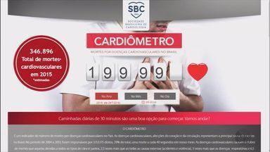 'Cardiômetro' aponta recorde em mortes por problemas cardiovasculares no Brasil - 'Cardiômetro' aponta recorde em mortes por problemas cardiovasculares no Brasil