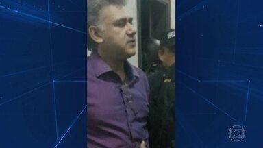 Traficante brasileiro teria mordomias em presídio no Paraguai - Uma ministra e diretores do presídio foram demitidos. Ambiente onde preso ficava tinha coleção de bebidas finas e decoração luxuosa.