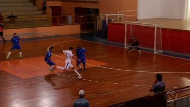 Mendes enfrenta Botafogo pela Copa Estadual de Futsal - Partida foi válida pelo primeiro jogo da final.