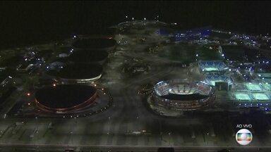 Parque Olímpico é o principal palco das competições - O Fantástico apresenta o Parque Olímpico, que vai abrigar a maior parte das competições.