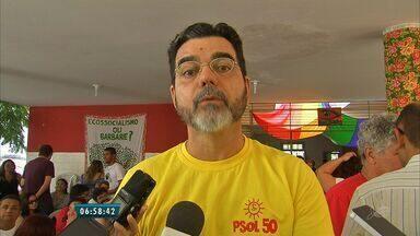 Psol oficializa candidatura de João Alfredo - Anúncio foi feito neste domingo (31).