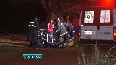 Mulher morre ao ver casa em chamas em Campo Grande - Ela passou mal e não reagiu com as tentativas de reanimação.