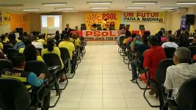 PSOL confirma Professor Márcio Pinto como candidato a prefeito em Santarém - Partido realizou uma convenção no sábado (30) e indicou nome de professor para concorrer à prefeitura.