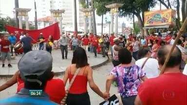 Protestos contra Dilma e Temer tomam ruas do Recife - Atos aconteceram em Boa Viagem e na área central da cidade