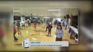 Telespectadores registram o Esporte na região - Os vídeos foram feitos no fim de semana e você também pode enviar imagens.