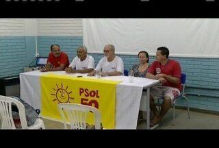 PSOL realiza convenção de partido em Ipatinga - Escolha de representantes para vereadores e prefeito foi feita.