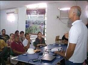 Autoridades discutem medidas para resolver situação do rio Lontra - Autoridades discutem medidas para resolver situação do rio Lontra