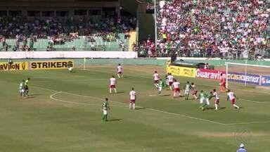 Tombense perde para Guarani e perde vaga no G-4 da Série C - Com derrota, time de Tombos segue com 16 pontos na tabela. Partida terminou 2 a 0