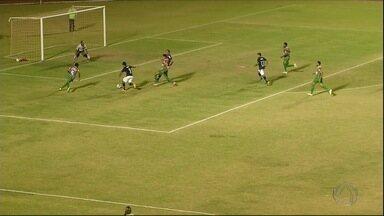 Sete de Dourados perde para Fluminense de Feira e está fora da Série D do Brasileirão - O time de Mato Grosso do Sul precisava vencer por três gols de diferença do Fluminense de Feira de Santana, mas o resultado desse domingo foi bem diferente.