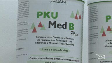 Latas da fórmula PKU são entregues na APAE em São Luís - As latas da fórmula PKU, usada no tratamento de pacientes com fenilcetonúria, começaram a ser entregues nesta segunda-feira (1º) na Associação de Pais e Amigos dos Excepcionais (Apae), mas a fórmula que chegou só atende parte dos pacientes.