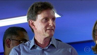 PRB lançou a candidatura do senador Marcelo Crivella à prefeitura do Rio. - Candidato a vice na chapa ainda não foi definido.