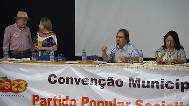 PPS lança Ronaldo Gontijo como vice na chapa de João Leite em BH - Legenda realizou convenção neste domingo, em Belo Horizonte.