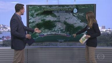 Tocha olímpica passa pelas zonas Oeste, Norte e Sul do Rio nessa quinta (04) - Falta 1 dia pra Olimpíada!