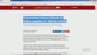 Suspeita de fraude na licitação do transporte coletivo em Telêmaco Borba - Documentos exclusivos apontam que empresa pode ter sido beneficiada ao ter acesso antecipado ao edital.