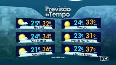 Veja a previsão do tempo para essa quinta-feira (04) - Previsão de dia chuvoso em alguns municípios do Maranhão.