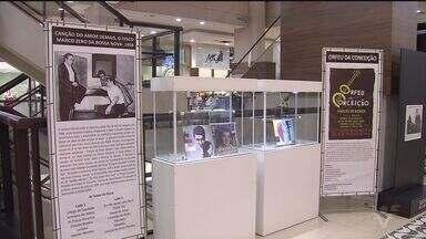 Exposição aborda a história da Bossa Nova - Por meio da mostra é possível conhecer um pouco mais sobre a cultura musical brasileira, no shopping Pátio Iporanga.