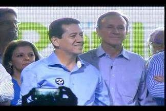 Ripposati é lançado como vice durante convenção do PSD em Uberaba - Candidato estará na chapa de Paulo Piau (PMDB). PSD lançou 13 vereadores.