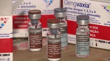 Primeiras doses de vacina contra a dengue chegam ao Paraná - Imunização começa no próximo dia 13. Londrina está no mapa da vacinação.