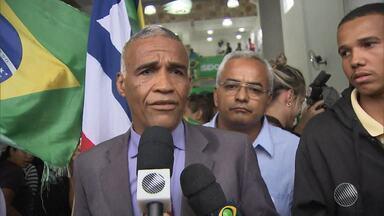 PDT lança candidatura de Sargento Isidoro para disputar a prefeitura de Salvador - Convenção foi realizada nesta quinta (4).