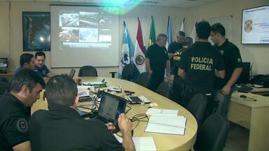 Polícias do Brasil, Paraguai e Argentina vão trabalhar juntas durante a Olimpíada - A operação Fronteira Olímpica começou hoje.