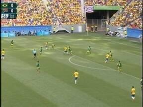Ronaldo Nascimento comenta a estreia do Brasil contra a África do Sul - Rodrigo Caio, um dos jogadores do time, nasceu na região.