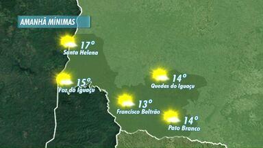 Temperaturas continuam subindo nesta sexta feira na região - Veja a previsão no mapa
