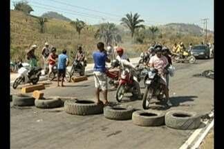 Trabalhadores do MST interditaram estrada em Parauapebas - O bloqueio prejudicou o funcionamento de um Mineradora local.