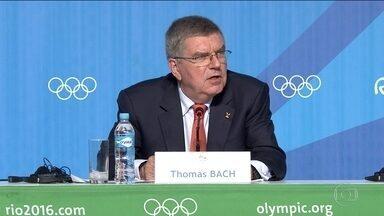 Thomas Bach diz que apesar dos grandes desafios, Rio conseguiu concretizar a Olimpíada - Presidente do Comitê Olímpico Internacional Thomas Bach diz que apesar dos grandes desafios, o Brasil e o Rio de Janeiro conseguiram concretizar a Olimpíada.