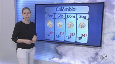 Veja a previsão do tempo para esta sexta-feira na região de Ribeirão Preto, SP - Umidade relativa do ar permanece baixa.