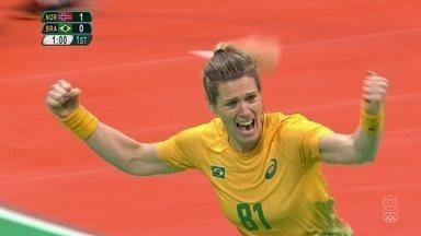 Brasil empata o jogo contra a Noruega no Handebol Feminino - Brasil empata o jogo contra a Noruega no Handebol Feminino