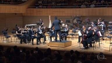 Orquestra Filarmônica de Minas Gerais faz apresentação em BH - 'Concertos para a Juventude' foi na Sala Minas Gerais.