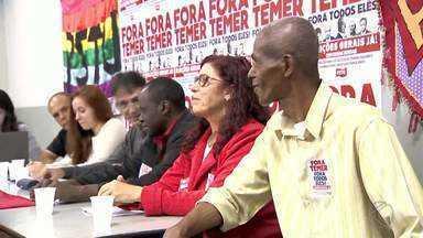 PSTU lança candidatura de Victoria Mello à Prefeitura de Juiz de Fora - Anuncio foi feito nessa sexta; vice será José Maria Carneiro.Partido também indicou três candidatos a vereador.