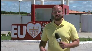 CRB se apresenta nesta segunda para iniciar treinos antes de enfrentar o Londrina - Grupo regatiano estava de folga no última semana.